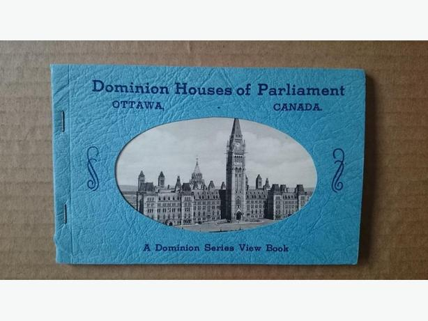 Canadian Parliament Buildings picture book