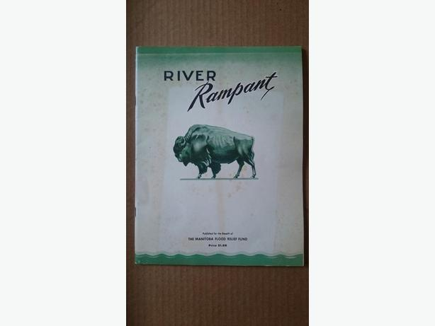 """River Rampant"" 1950 Winnipeg Flood book"