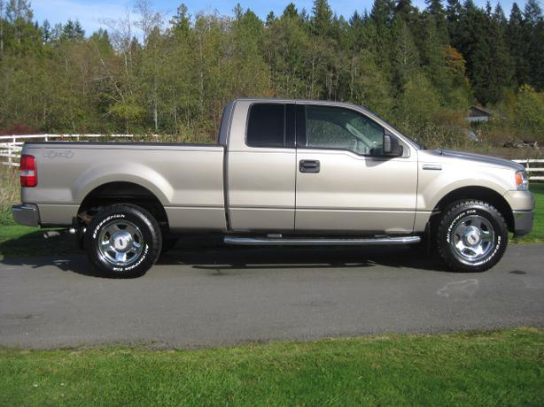 2004 Ford F 150 Lariat Supercab 4wd Outside Comox Valley