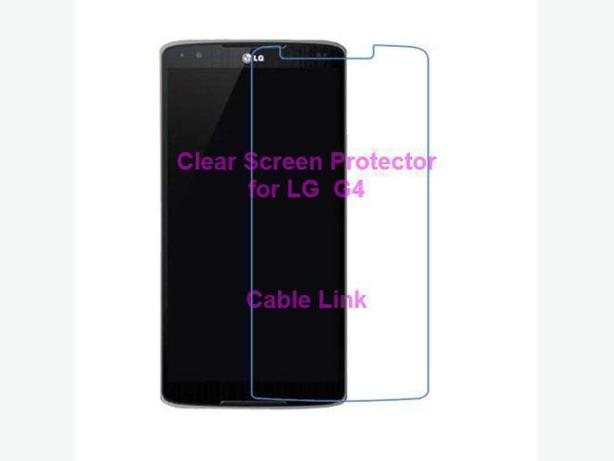 Clear Screen Protector Guard Film Case For LG G4