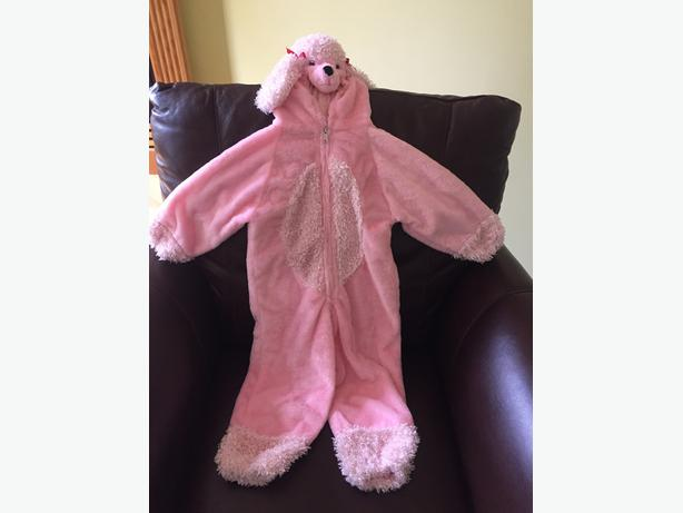 Pink French Poodle Halloween Costume / Halloween chien rose