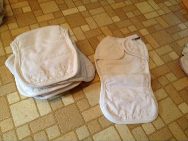 Almost New Cloth Diapers