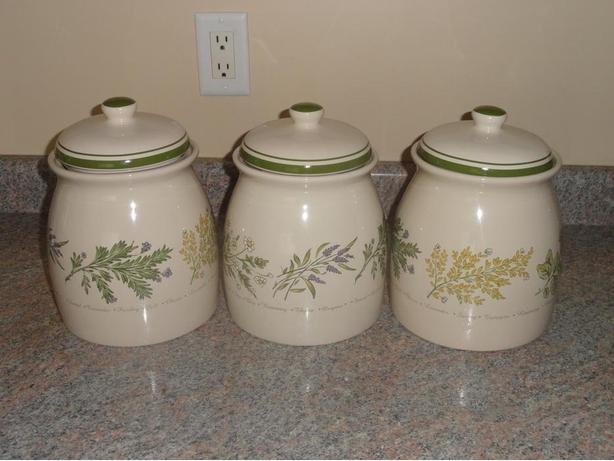 canisters & plates