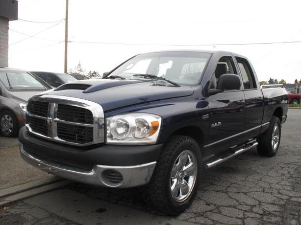 2008 dodge ram 1500 4wd auto equipped for towing hemi was 9995 outside alberni valley alberni. Black Bedroom Furniture Sets. Home Design Ideas