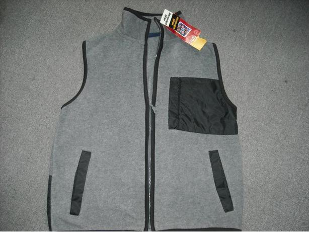 Boy's Grey, Fleece Vest