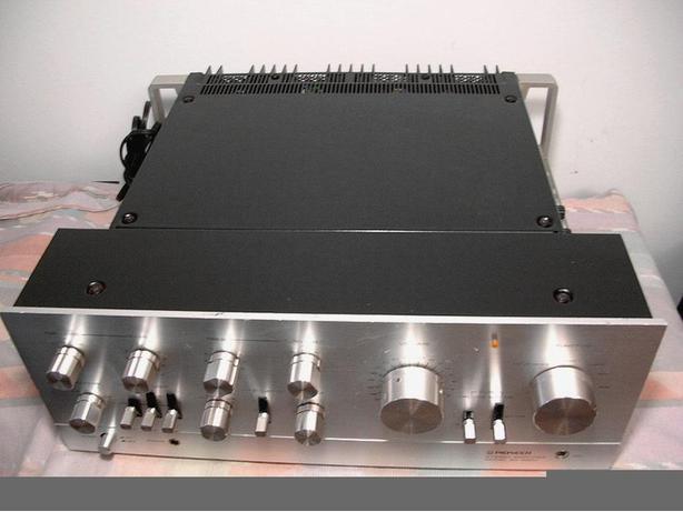 PIONEER SA-9500 INTEGRATED AMP AMPLIFIER * NICE, PRO SERVICED, ORIGINAL *