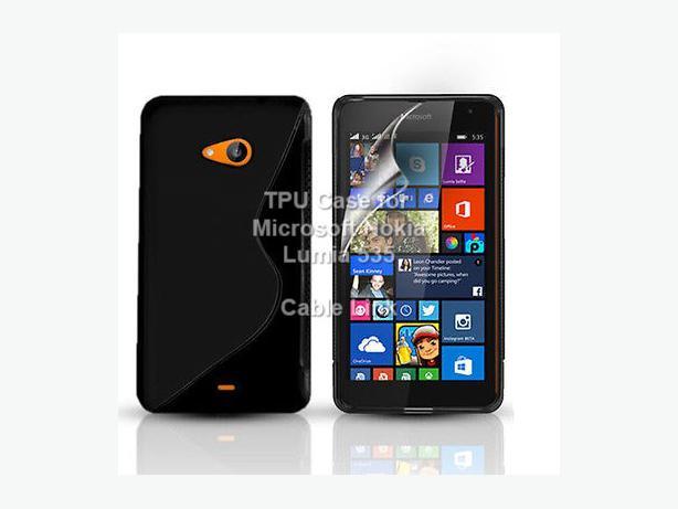S-Line anti-skid Shell Case For Microsoft Nokia Lumia 535