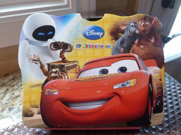 Disney /Pixar  MA PETITE BIBLIOTHÈQUE