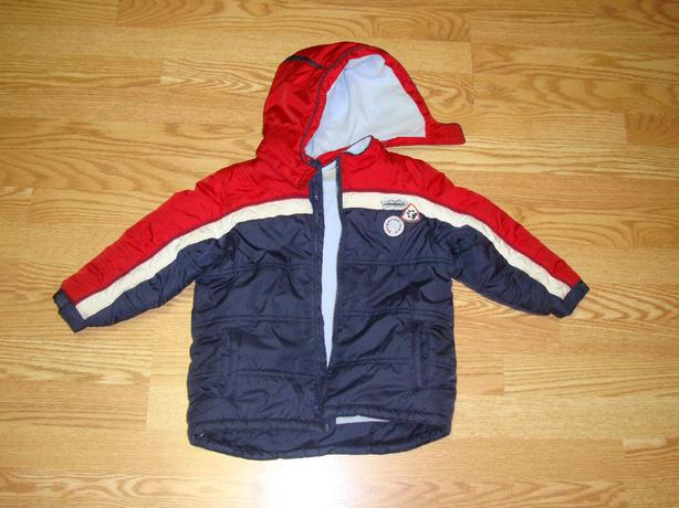 Like New Size 3 Toddler Winter Fleece Lined Coat - $10