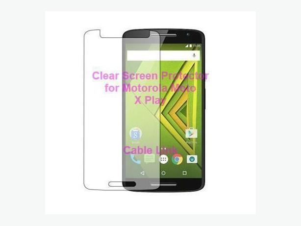 Clear Screen Protector for Motorola Moto X Play X3