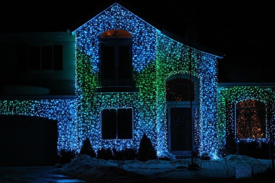 Star Shower Laser Lights Central Ottawa Inside Greenbelt