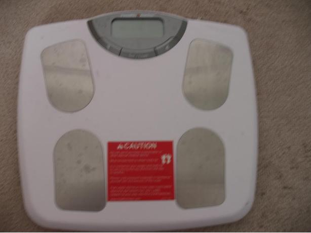 Digital bathroom scale/Body Fat Monitor
