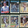 18 Card Lot 1980s Kansas City Royals