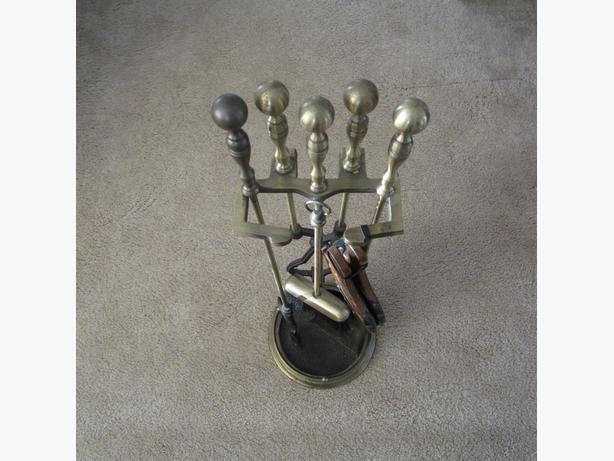 Fireplace Tools Solid Brass Outside Ottawa Gatineau Area Ottawa