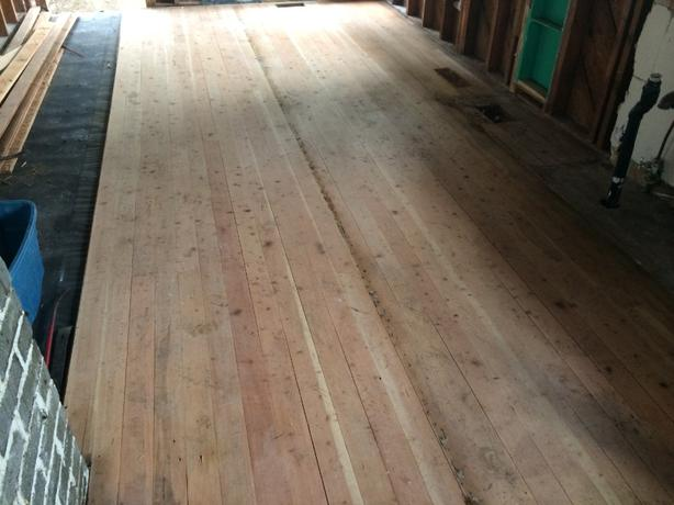 Reclaimed vertical grain douglas fir flooring campbell for Reclaimed douglas fir flooring