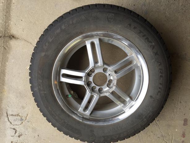 215 65 r16 winter tires with rim east regina regina. Black Bedroom Furniture Sets. Home Design Ideas
