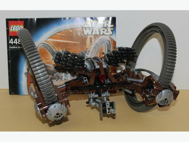 lego hailfire droid instructions