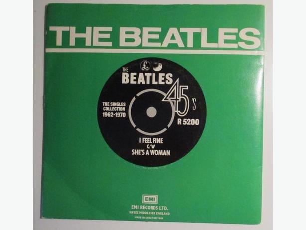 Vintage The Beatles 45 - I feel fine c/w She's a woman