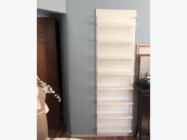 Ikea Large Wall Mounted Bookshelf / Shelving Unit Victoria