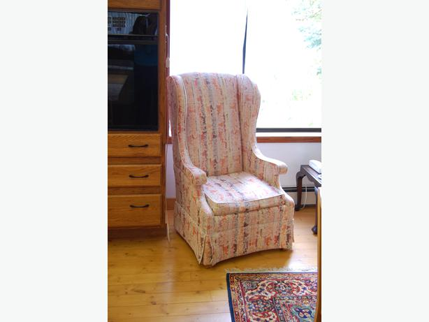 Wingback chair, rocking chair, wicker chairs, office/client chairs ...