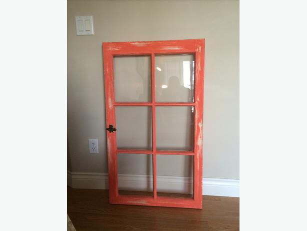 Antique Refinished Barn Window Frame