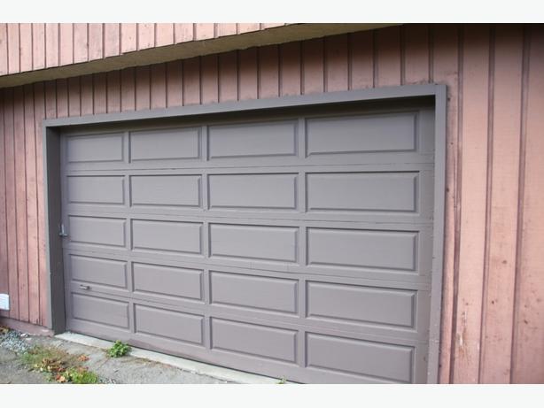 12 Foot Garage Door : Ft wood garage door saanich victoria