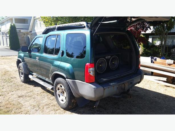 2001 nissan xterra suv 4x4 qualicum nanaimo. Black Bedroom Furniture Sets. Home Design Ideas
