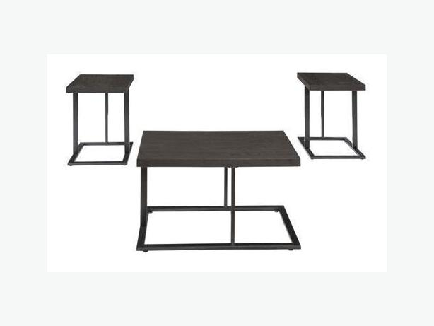 New Airdon 3 Piece Coffee Table Set