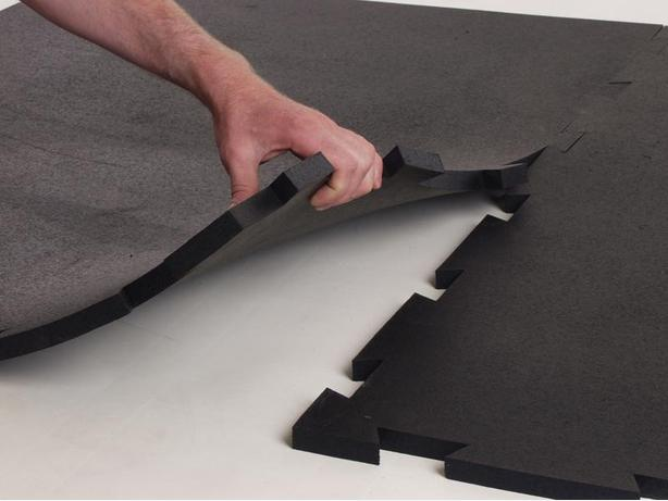 "New - 10' x 12' x 3/4"" Revulcanized Rubber Horse Stall Mat Kits"