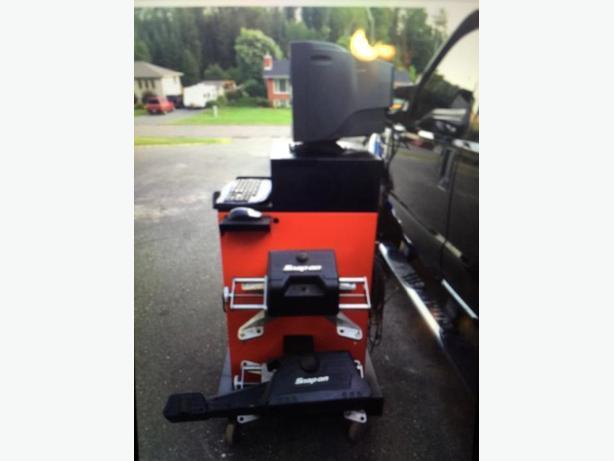 Snap On Wheel Alignment Equipment