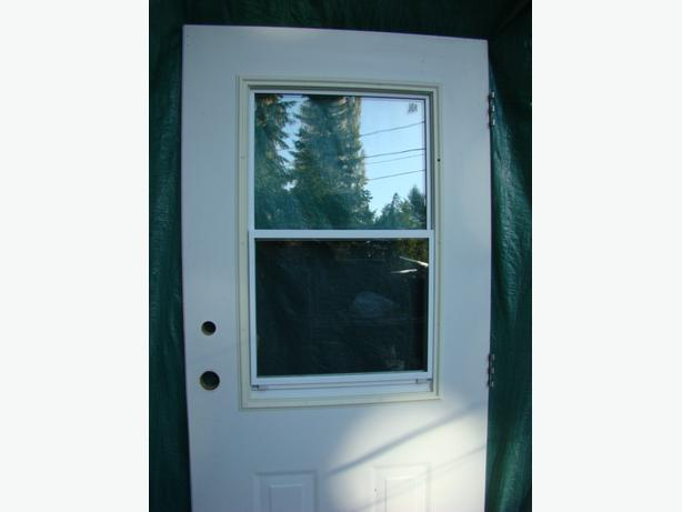 metal clad 36 inch exterior door with frame campbell river comox valley
