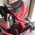 Phil & Ted's Classic Stroller with 2nd seat & car seat holder