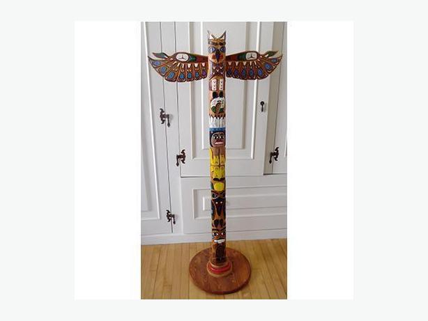 Native Canadian Totem Pole