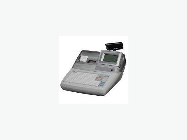 CASH REGISTER - CASIO TE4500, 2 PRINTER, THERMAL,FLAT PANEL