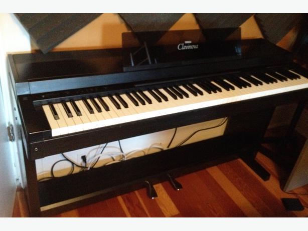 yamaha clavinova clp 300 series digital piano esquimalt