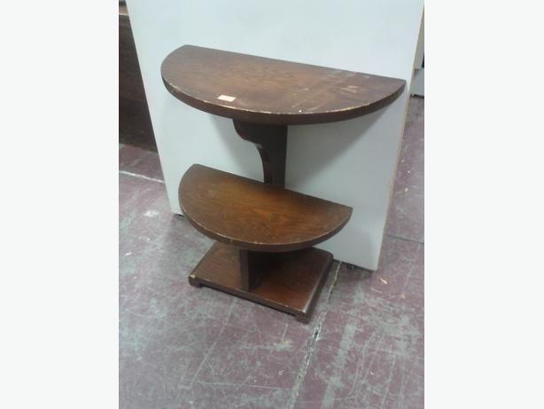 1/2 Round End Table