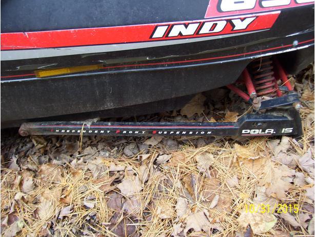 Polaris XLT Indy 650 600 500 RXL Sport Centurion Trail trailing arm