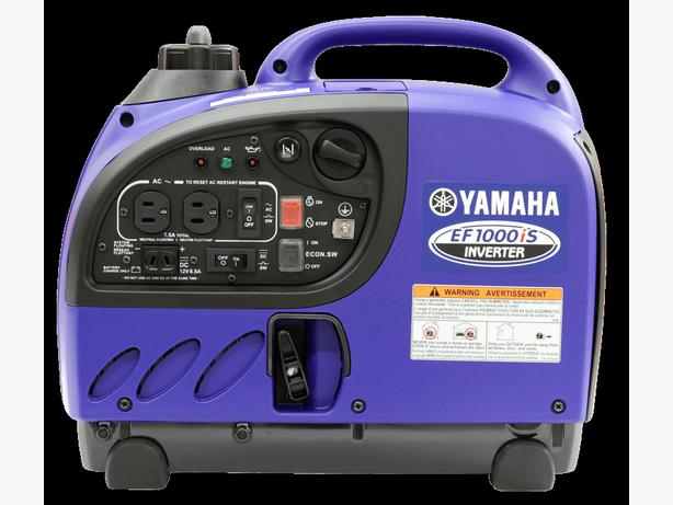 Yamaha Inverter EF1000is Ideal for Radio/TV/Microwave