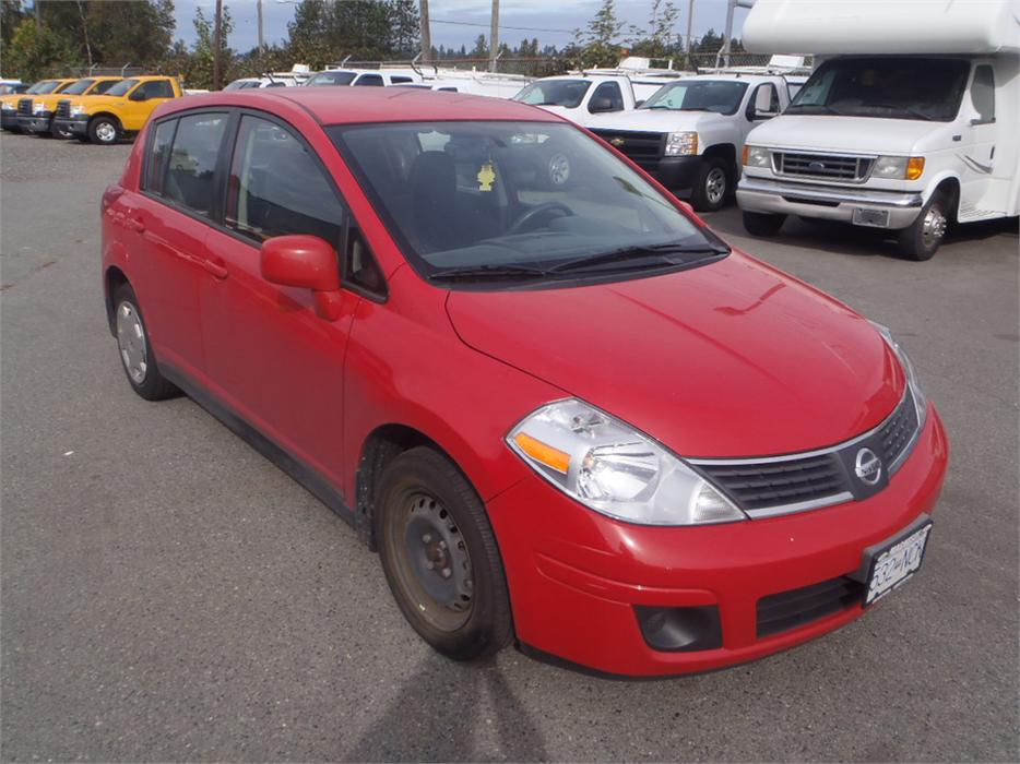 2009 Nissan Versa 1 8 S Hatchback Outside Okanagan Okanagan