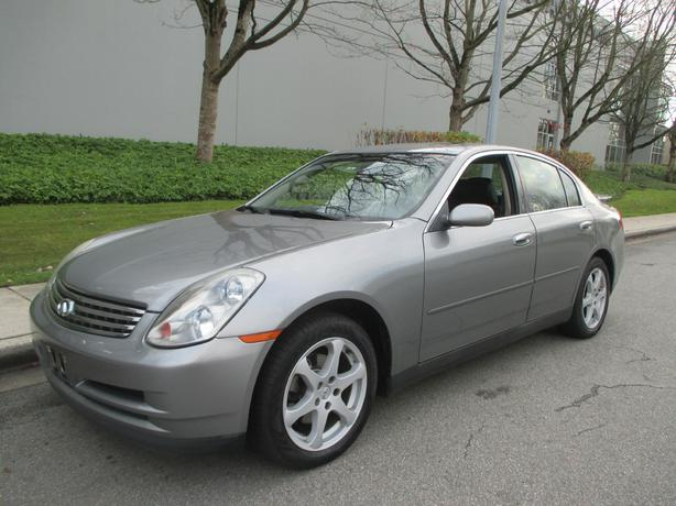 2004 infiniti g35 x awd 1 year warranty outside. Black Bedroom Furniture Sets. Home Design Ideas
