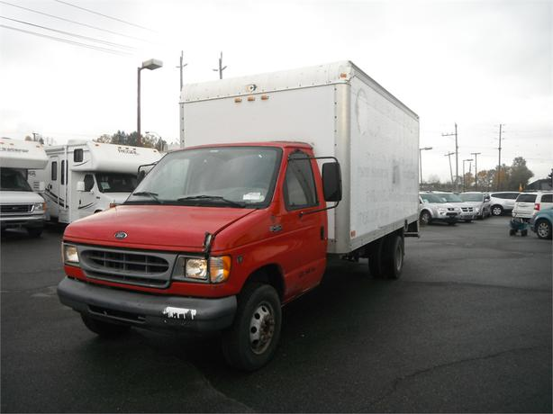 2001 ford econoline e 450 super duty 16 foot dually cube. Black Bedroom Furniture Sets. Home Design Ideas