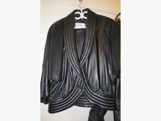 Womens Leather Jacket, stylish, brand new never worn