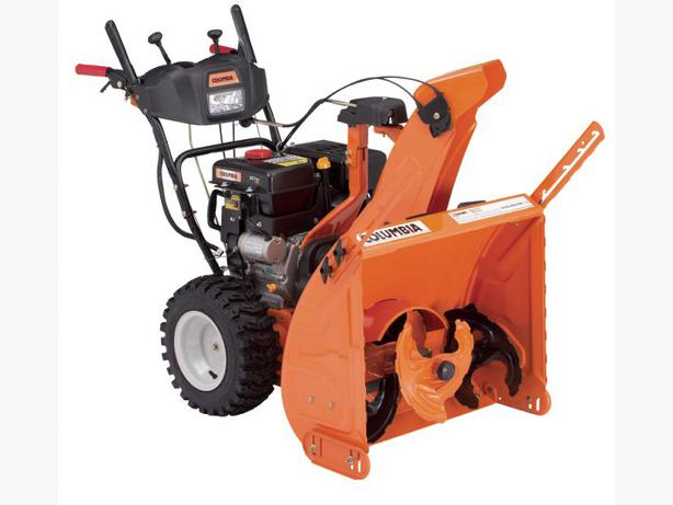 NEW COLUMBIA 3-Stage HEAVY DUTY MODEL CA324HD Snowblower