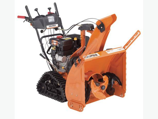NEW COLUMBIA 3-STAGE CA328HDT TRACK Snowblower in stock at DSR!
