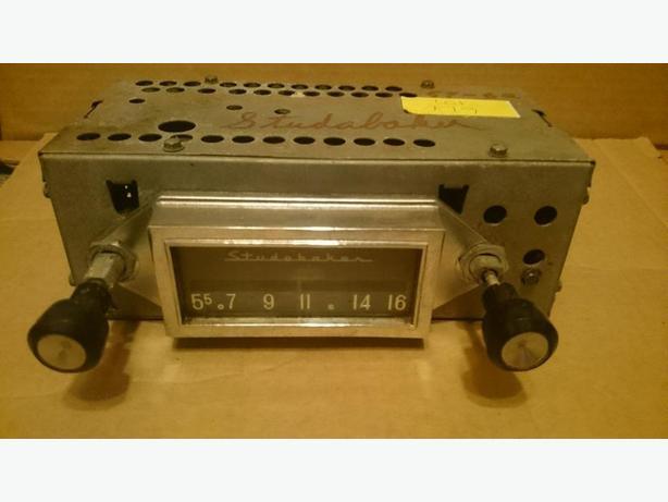 1959 - 1962 Studebaker radio