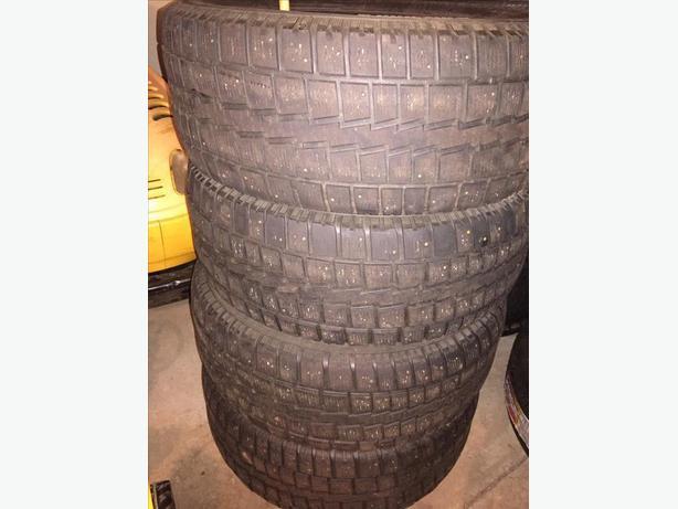 4 Winter Cooper Tires 275/55/20