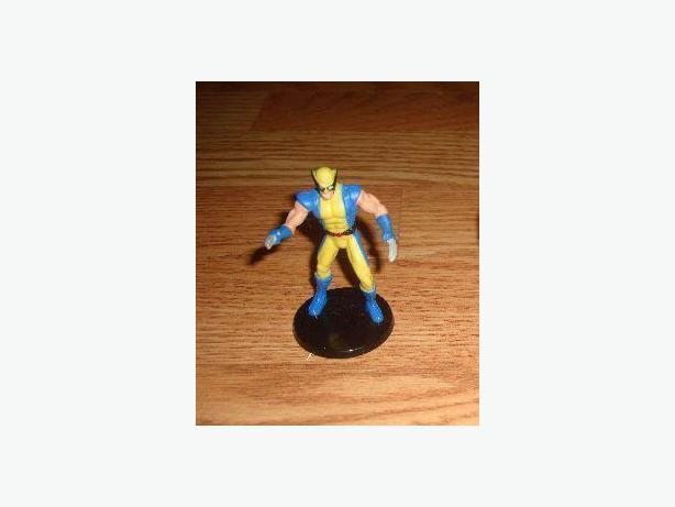 Like New Superhero Figurine on Stand Toy Figure - $2
