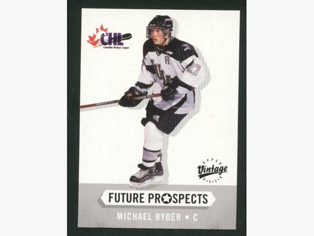 Michael Ryder Rookie Card Canadiens Devils