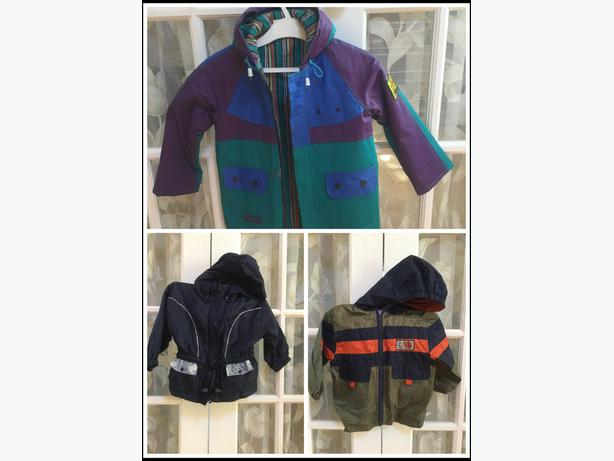 rain coat, winter snow suit, size available in 3, 4, 5, 6