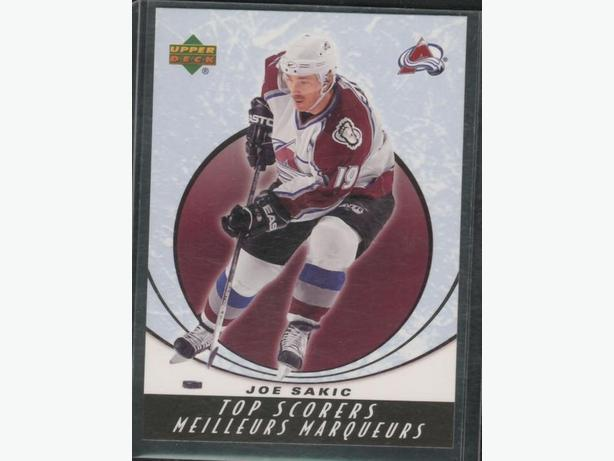 2006/06 Upper Deck McDonald's Top Scorer's Insert  Joe Sakic